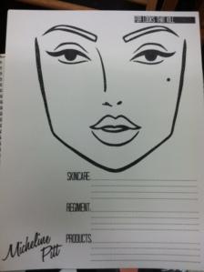 Face-Chart
